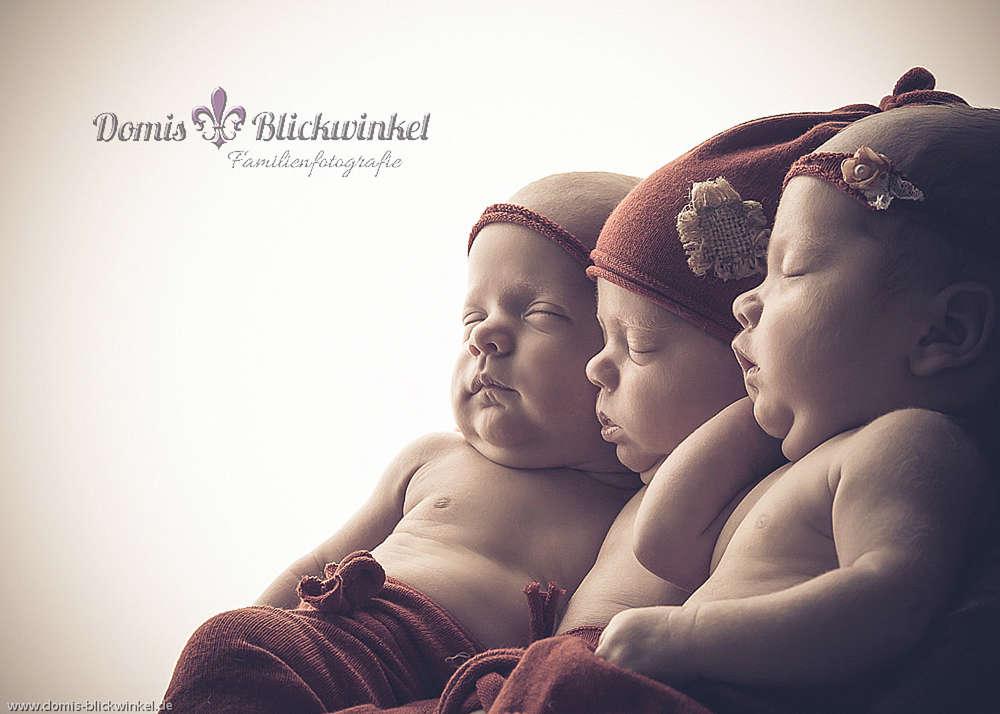 Drillinge / meine ersten Triplets :-)