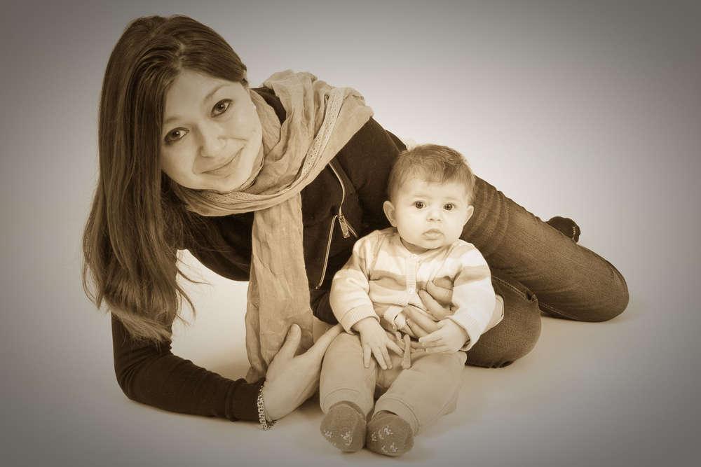 / Mutter mit Kind