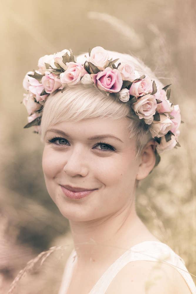 Flowergirl (Mobile Fotografie)