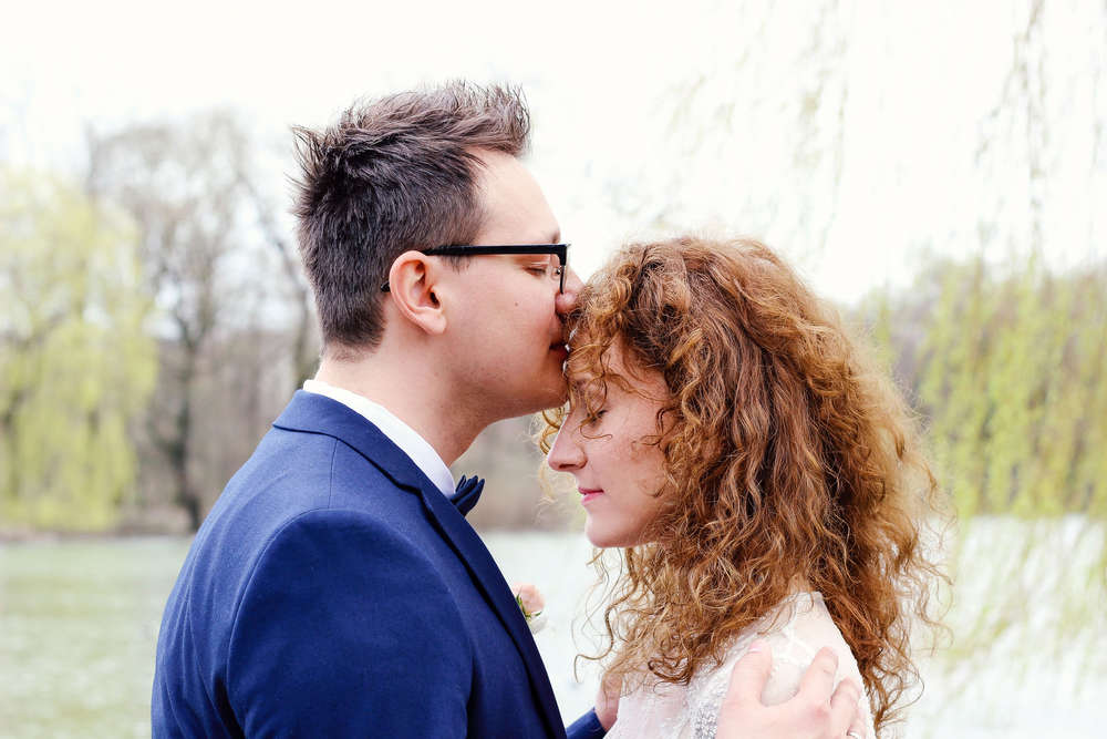 Brautpaar Shooting / Englischer Garten