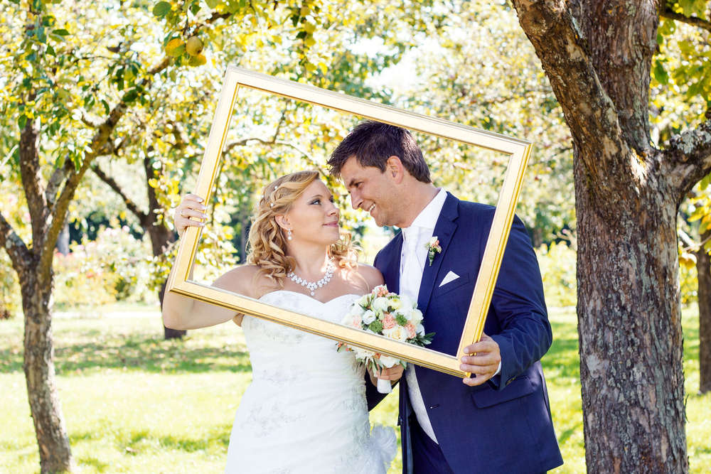 Brautpaar Shooting / schloss dachau