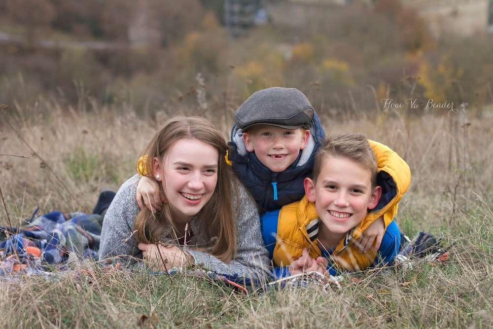 Geschwistersfotos / Familienglück