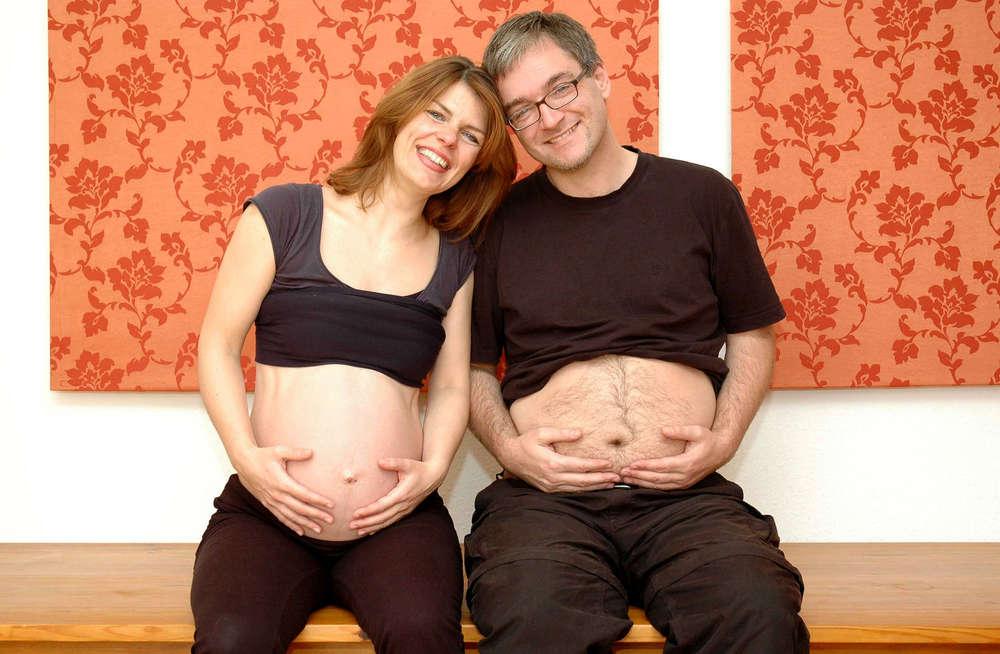 Schwangerschaftsfoto / Homestory