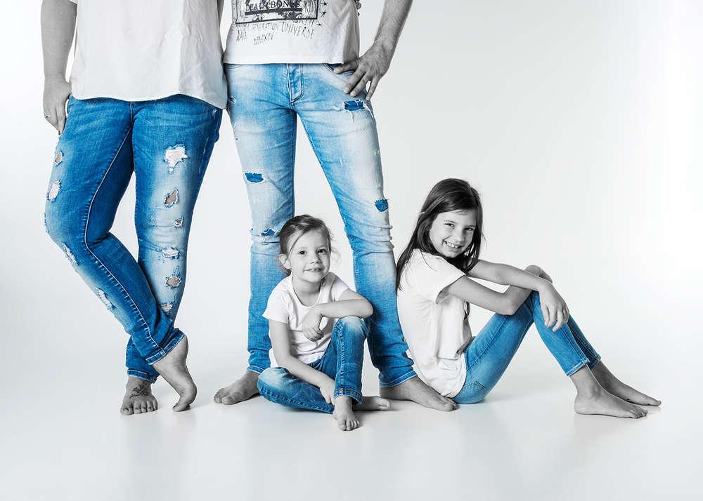 Moderne Familie /
