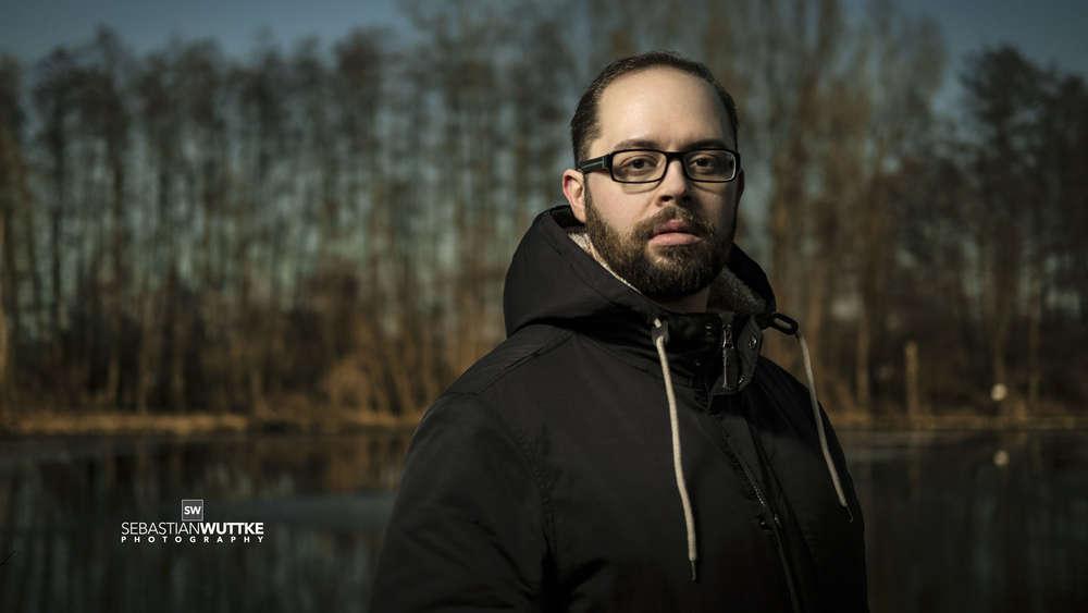 Hofnaar Design / Outdoor Portrait mit einem Blitz.