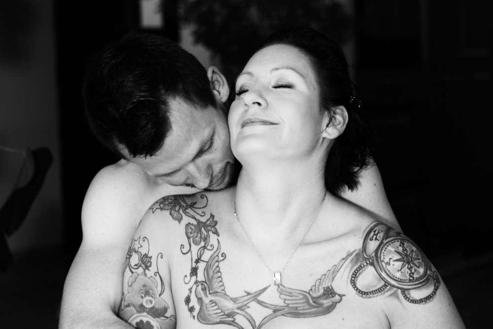 Vertrauen / erotisches Pre-Wedding Shooting