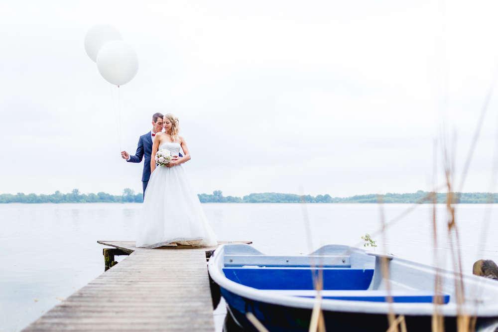 Hochzeit am See /