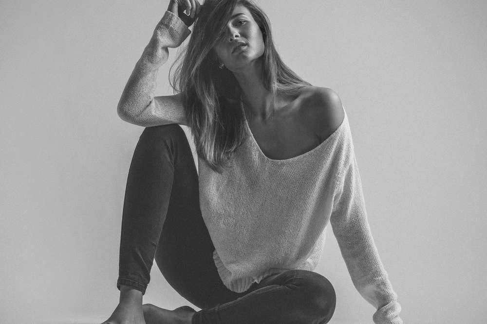 Portrait im Studio / Nina