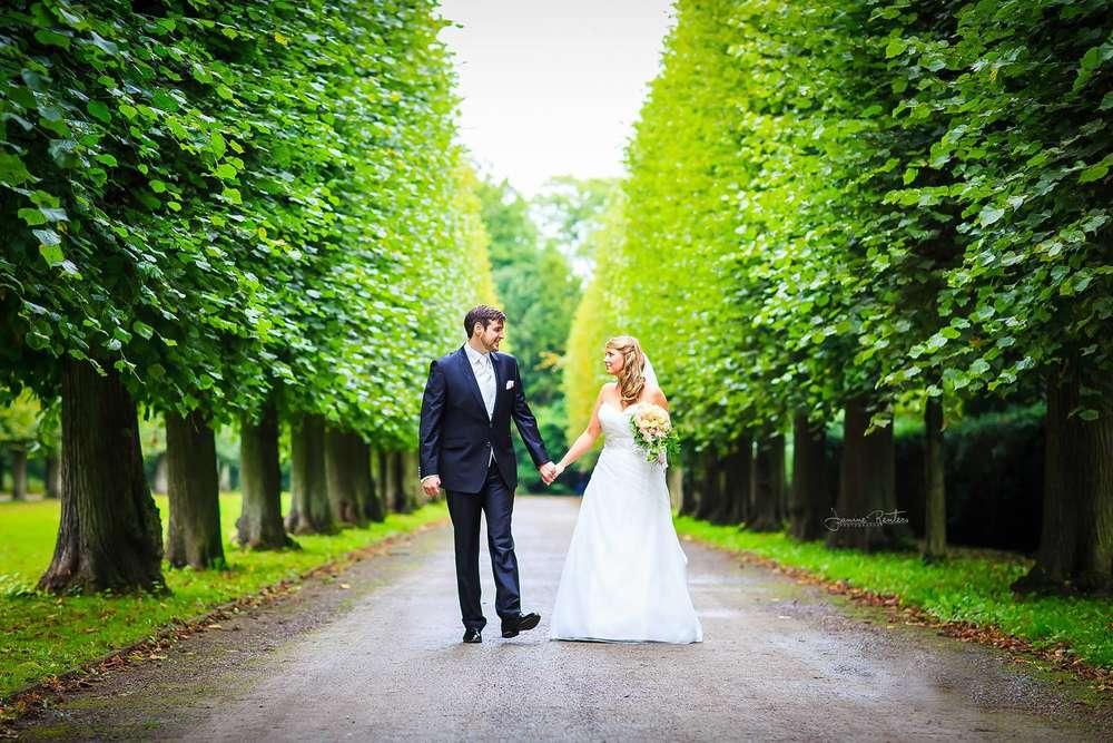 Brautpaarshooting Schloss Benrath (Janine Renters Photography)