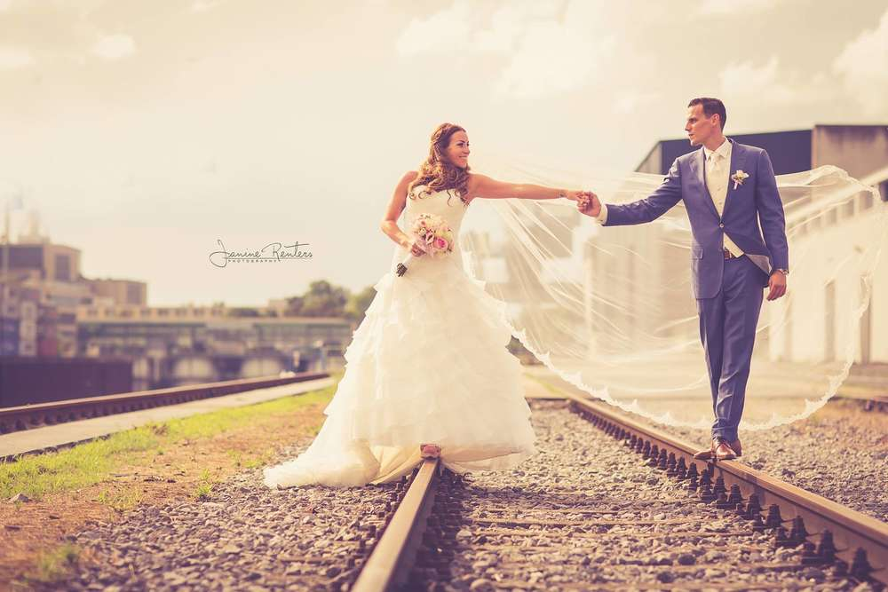 Brautpaarshooting Industrieshooting (Janine Renters Photography)