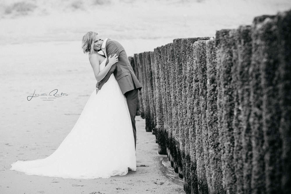 Brautpaarshooting Holland, Renesse (Janine Renters Photography)