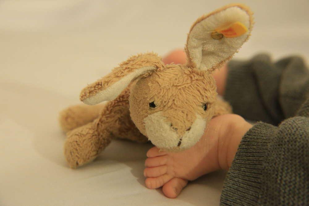 Babyfotografie (lightpainting-fotografie)