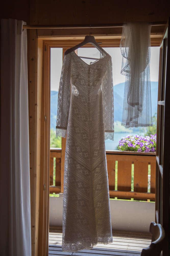 Das Brautkleid (lightpainting-fotografie)