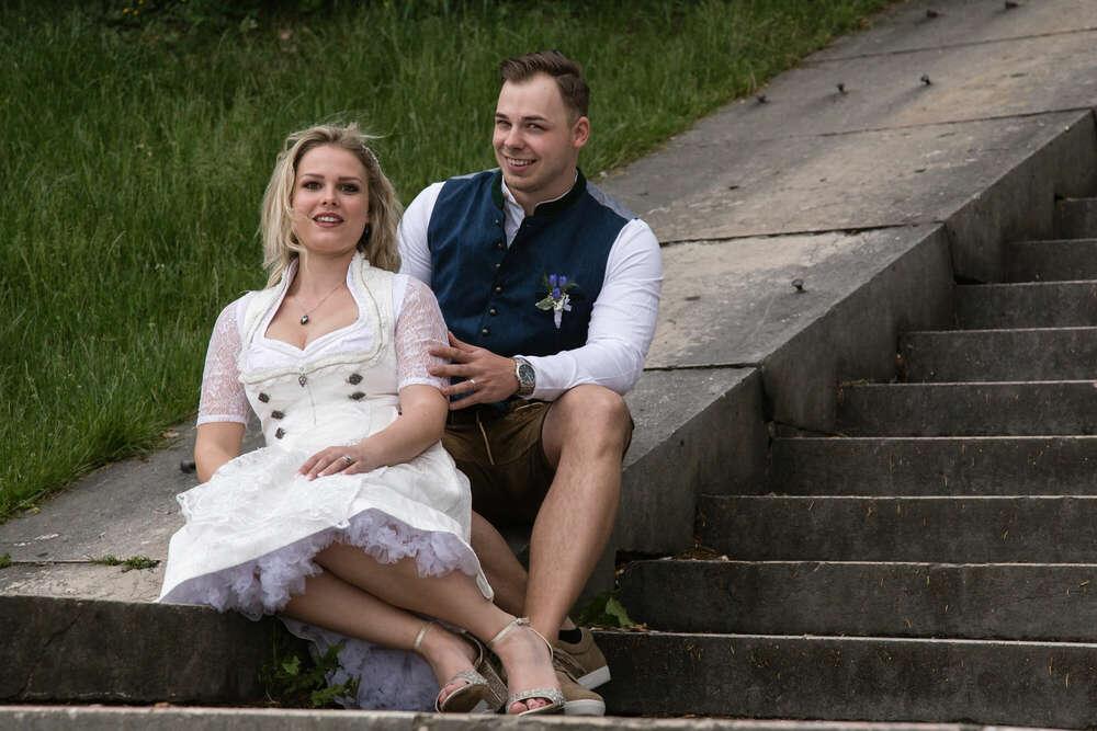 Hochzeitsfotografie / natürliche Hochzeitsreportage (lightpainting-fotografie)