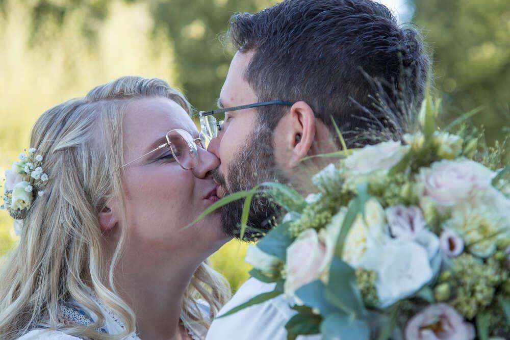 Hochzeitsfotografie / natürliche Hochzeitsfotografie (lightpainting-fotografie)