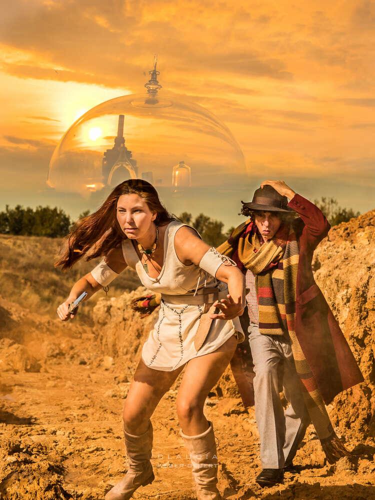 cosplay - Dr. Who und Leela / Dr. Who on Gallifrey (DESIGN BÜRO)