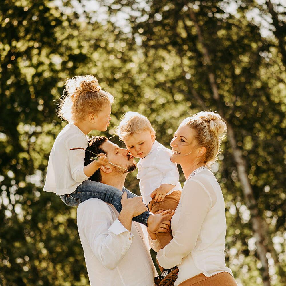 emotionale Familienfotografie /