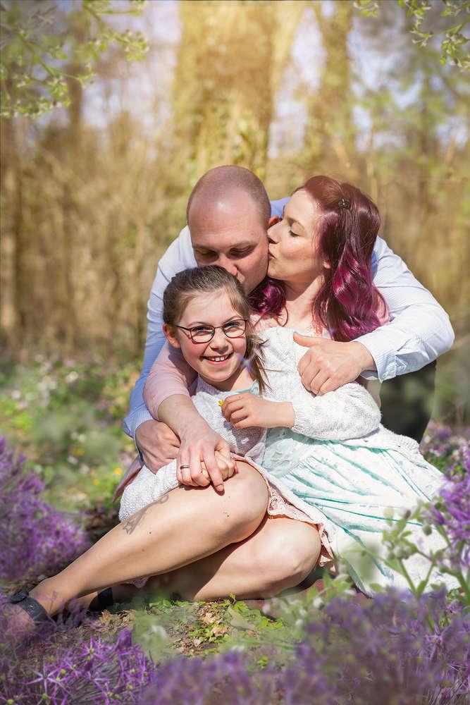 Familiy kisses ! / Familienfotografie (Fotografie mit Magie)