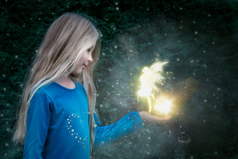 Feenzauber / Kinderfotografie (Fotografie mit Magie)