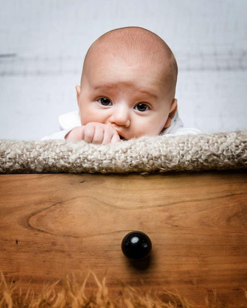 Baby / so süss und noch so klein. (Fotostudio Boeltz)