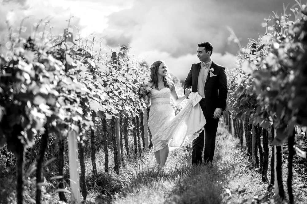 Natürliche Hochzeitsfotos / Paarfotos (Birgit Roschach Photography)