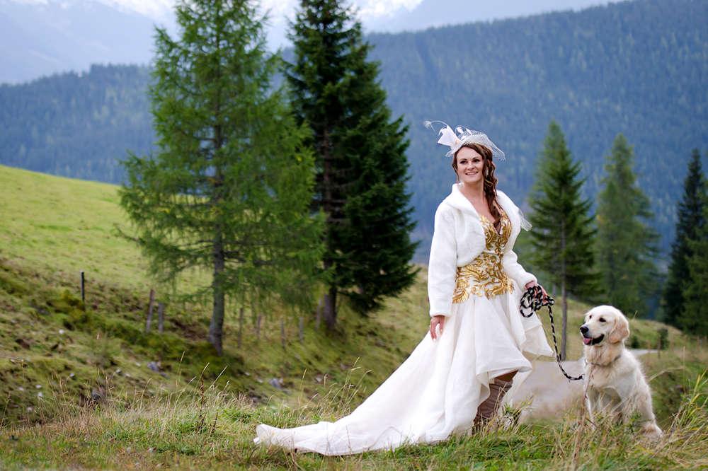 Schöne Braut (Fotolja)