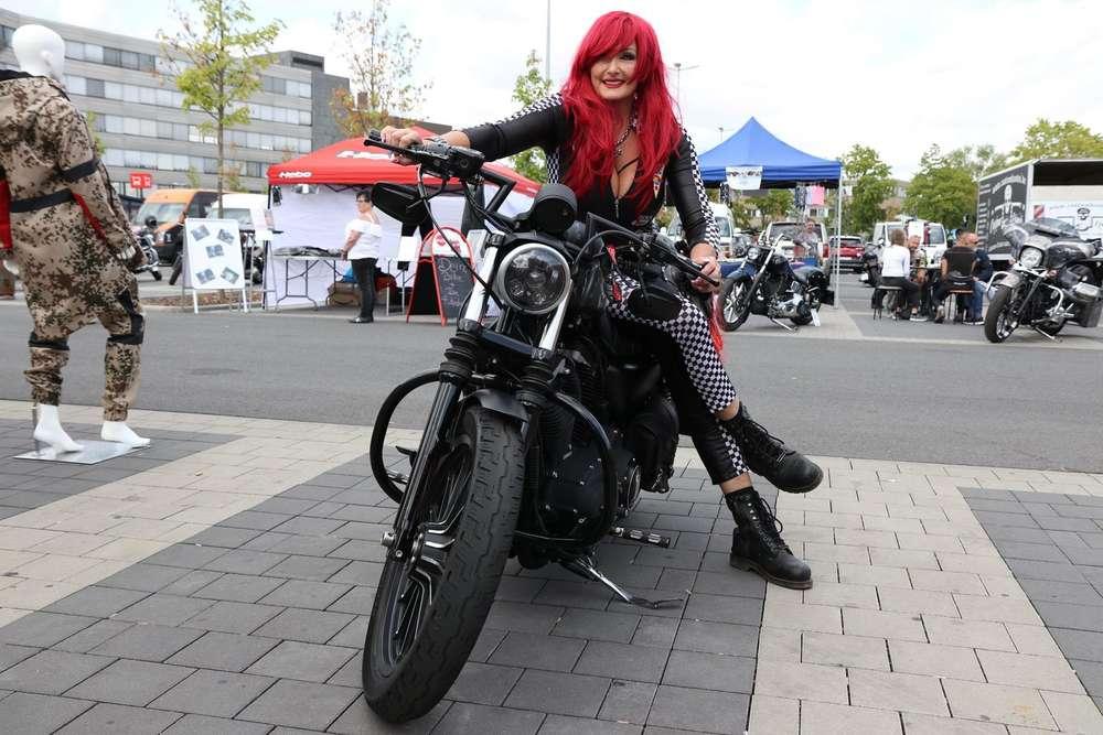 Ladies and Bikes / Harley Davidson