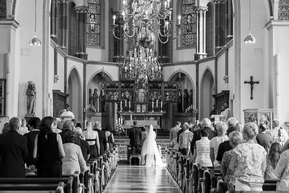 Hochzeit Kirche (T & P Fotografie)