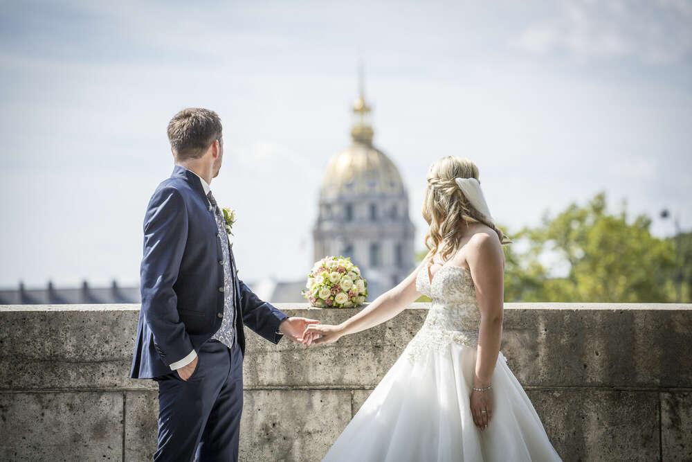Hochzeit in Paris / Hochzeitfotografie in Paris (Fotomentalist)