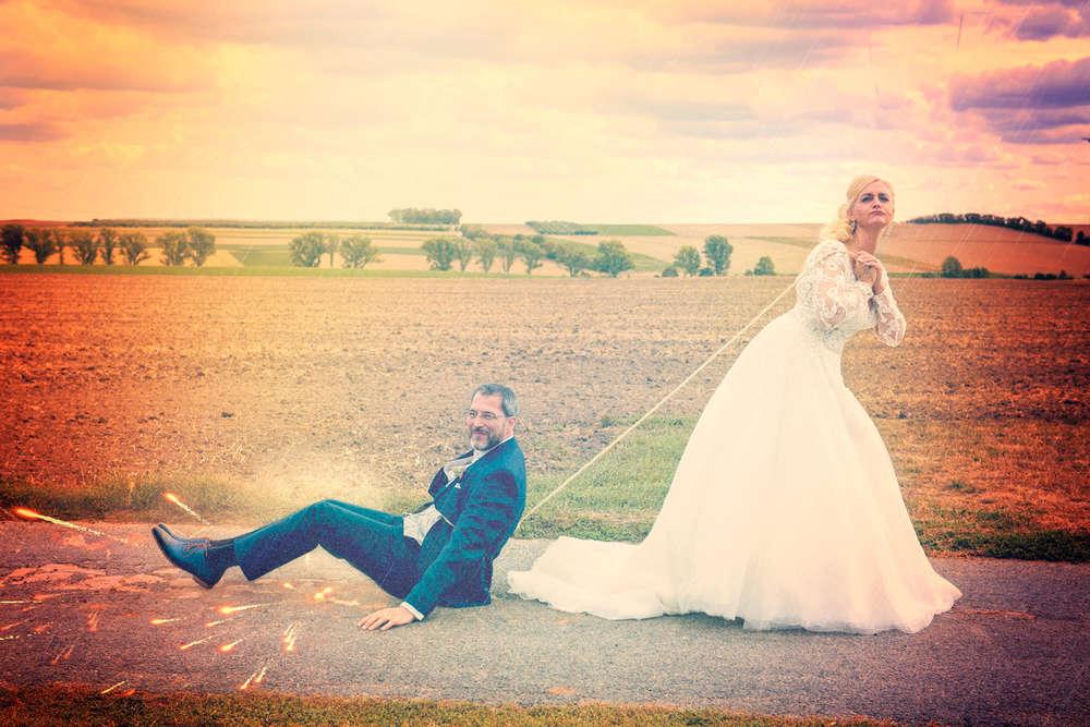 Hochzeit von Tania und Dirk / Abgeschleppt