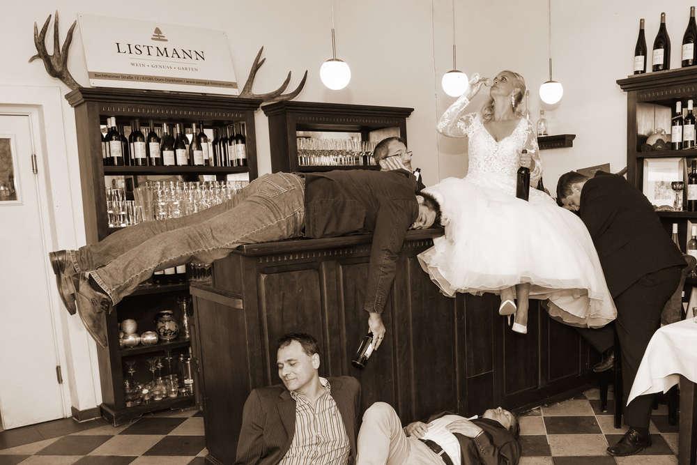 Hochzeit von Tania und Dirk / Gewonnen