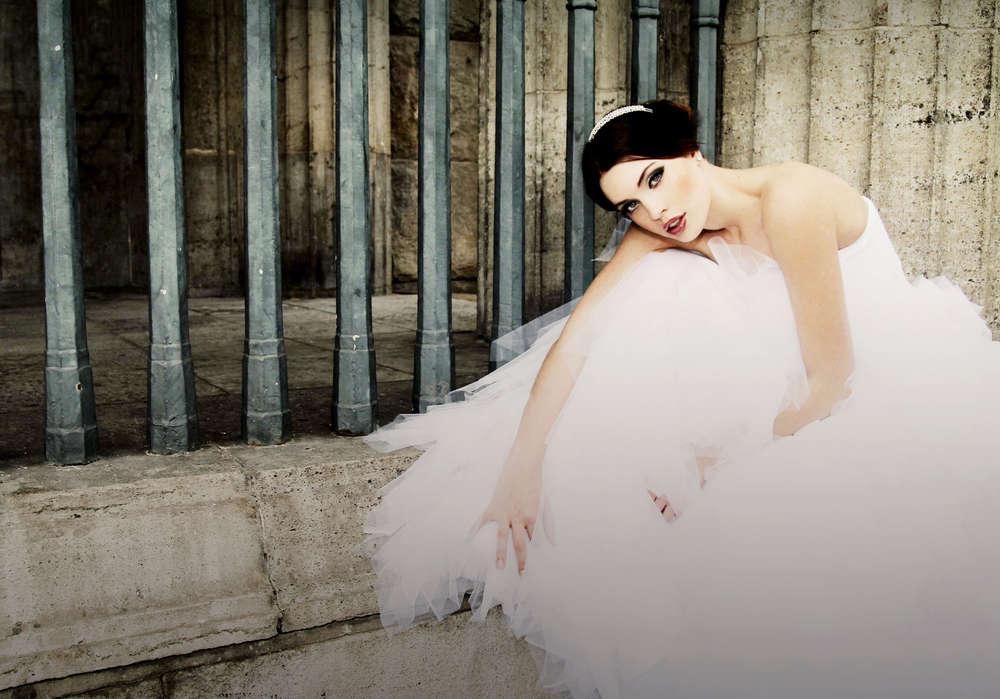 Die Braut / Brautportrait, Bride, bridal, beauty, (Christian Schmidt Fotografie)