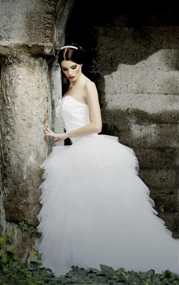 die Braut I / Brautportrait, Brautbild, Hochzeitsfotografie, Fotograf, Wehrheim, Frankfurt (Christian Schmidt Fotografie)