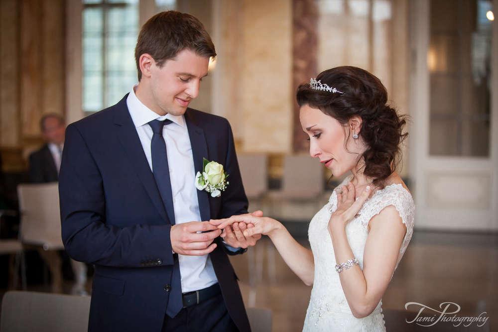Hochzeitsreportage Neues Schloss Stuttgart (TamiFoto)