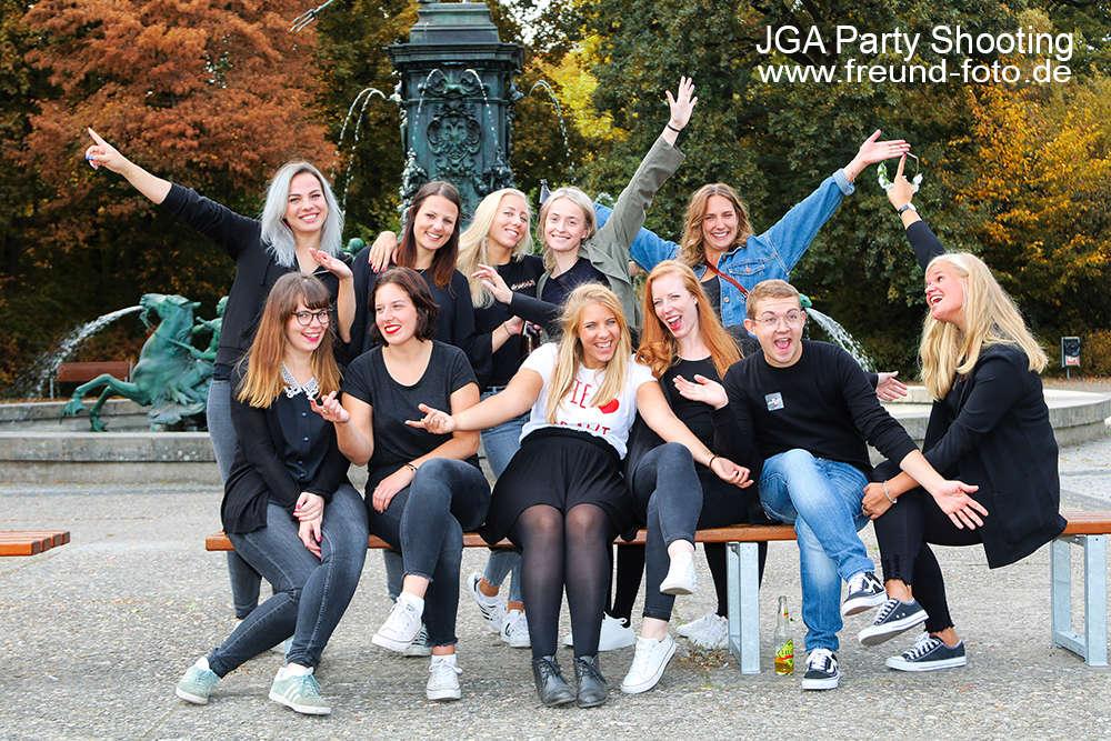 JGA Junggesellenabschied / Fotoparty JGA in Nürnberg und Fürth (Freund Foto)