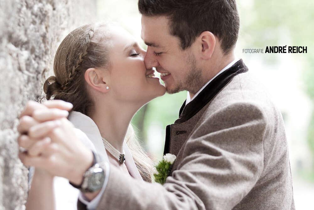 Brautpaar Tracht (FOTOGRAFIE André Reich)