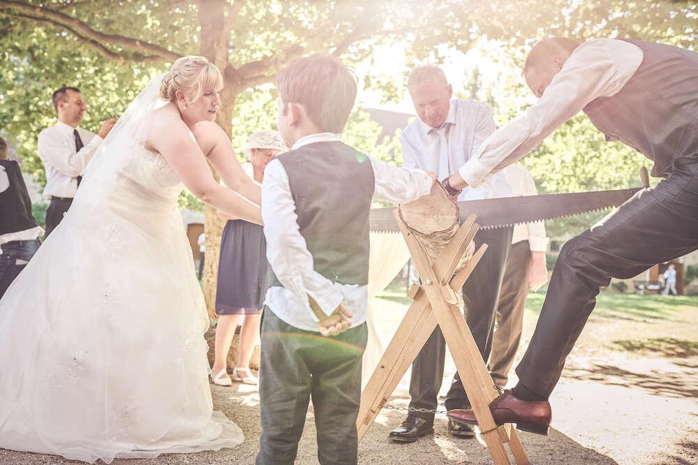Hochzeitsaktion (Lichtkegel Fotografie)