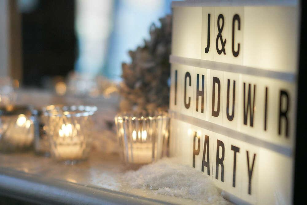 Hochzeitsfeier / ich, du, wir party (Roman Stöppler Fotografie)