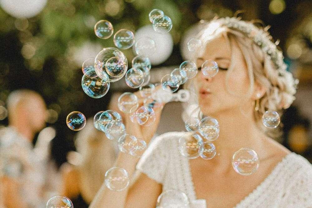Auch als Braut noch Kinderträume leben (Christian Freier)