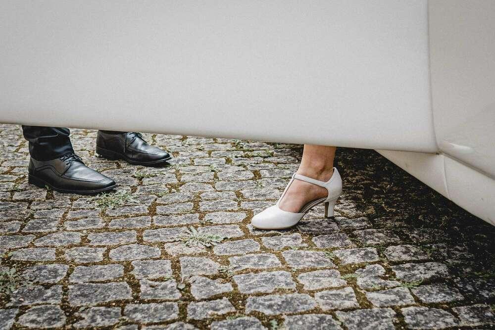 Ein einzelner Schritt kann den Unterschied machen zwischen Vorfreude und Herzklopfen (Christian Freier)