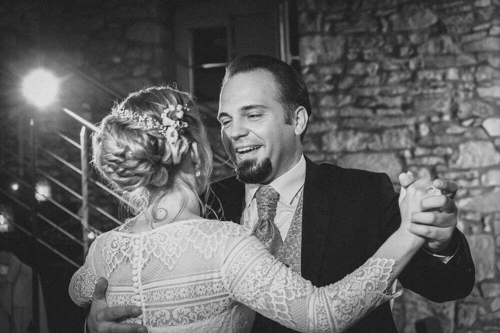 Hochzeitstanz im Rampenlicht (Christian Freier)